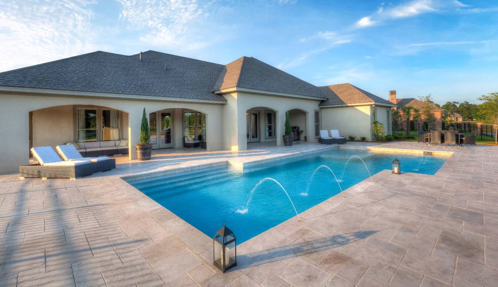 Custom home builders residential commercial construction for Homes for sale in baton rouge with swimming pools